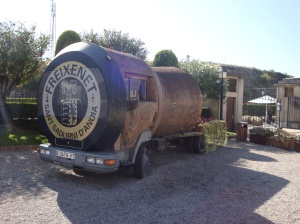 Cork Truck at Freixenet Winery