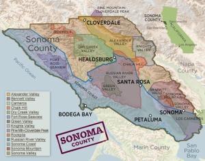 Sonoma County Regions