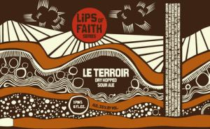 A great visual of terroir from the Le Terroir label from New Belgium Brewing Company beers.